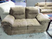Ashley Durapella Sable Love Seat 001550 WAS: $469.99