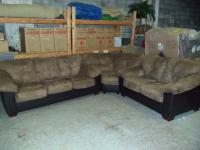 Ashley 3pc Carson Cocoa Sectional 001440 WAS: $1,399.99